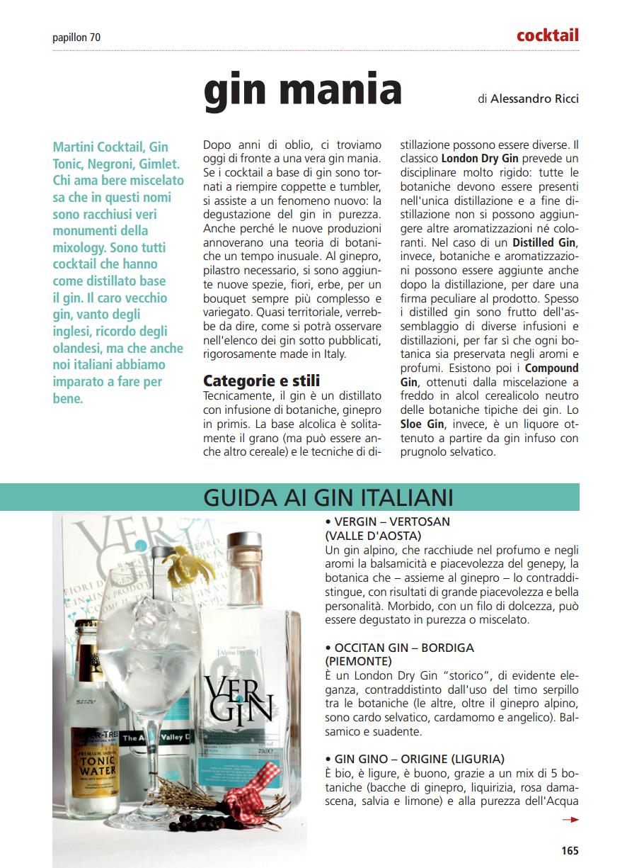 Gin Mania – La degustazione in purezza